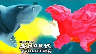 Hungry Shark Evolution - Огненная Акула - Pyro Shark - ЛУЧШАЯ АКУЛА ?