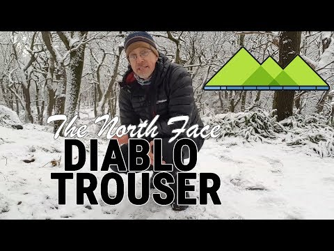 Diablo Trouser Review   The North Face
