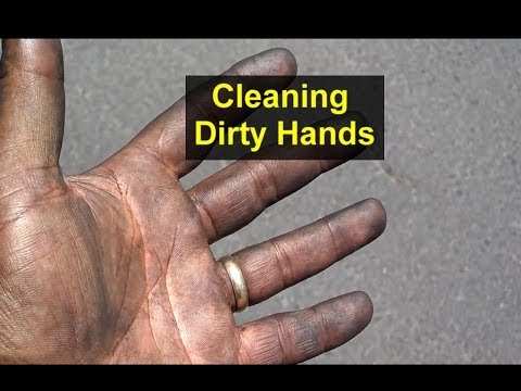 How to get your hands real clean after working on your car. - Auto Information Series