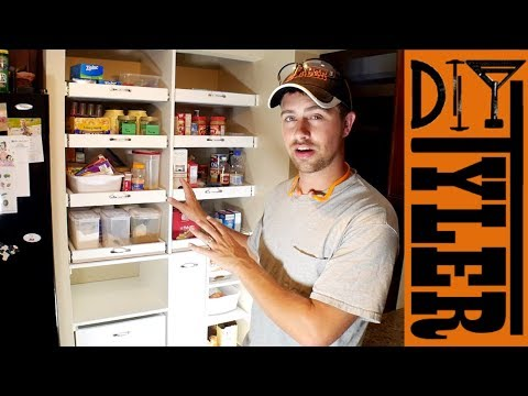 Built In Pantry 2.0 | Kitchen Organization | How to Make