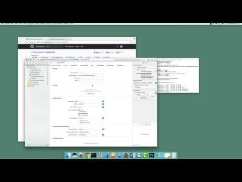 GitHub 03: Clone and Create Xcode Project (iOS Xcode Development)