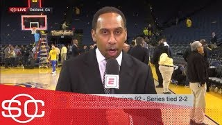 Stephen A.: Chris Paul looked great, Nick Young