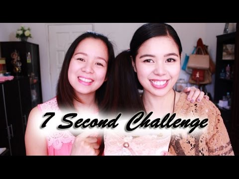 7 Second Challenge With my Sister- Beautyklove