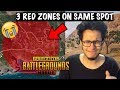 3 Red Zones On The Same Spot How Unlucky Can I Be In PUBG Mobile