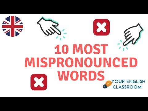 How to IMPROVE Your Pronunciation- 10 Mispronounced English Words Pt 2