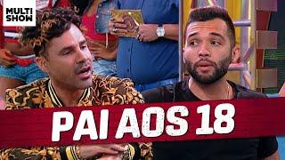 Jonathan Costa desabafa sobre ter sido PAI AOS 18! 😲 | Os Suburbanos | Humor Multishow