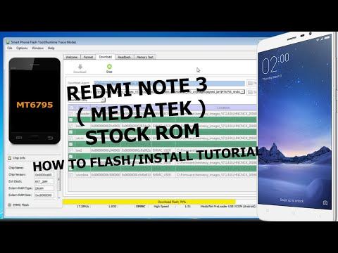Redmi Note 3 (MediaTek) Stock Rom | How To Flash/Install Stock Rom on Redmi Note 3