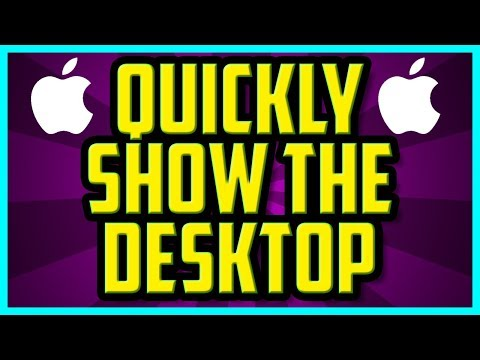 How To QUICKLY Show Desktop On Mac OSX WORKING 2018 - Mac Sierra Show Desktop With Mouse Gesture