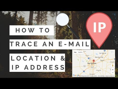 How To Trace An E-Mail  (Location & IP Address)