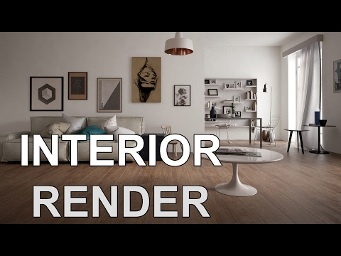 3Ds MAX Tutorial - How to Render Realistic Scene