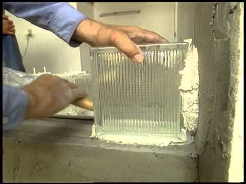Installing Glass Blocks