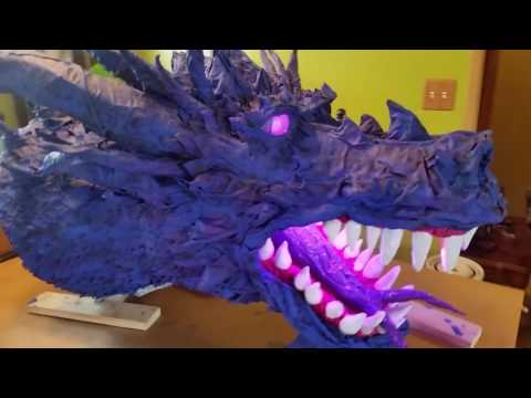 Dauq Azure the Blue Dragon