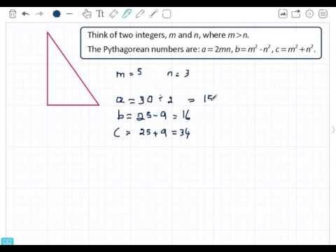 Euclids Pythagorean Triples