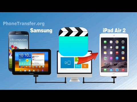 How to Transfer Videos from Galaxy Phone to iPad Air 2, Sync Galaxy Tablet Movies to iPad Air 2