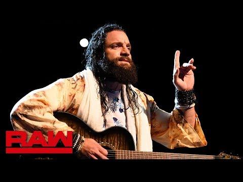 Elias demands silence: Raw, May 28, 2018