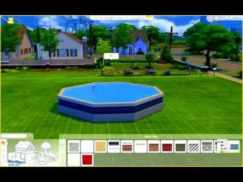 Above Ground Pool Build