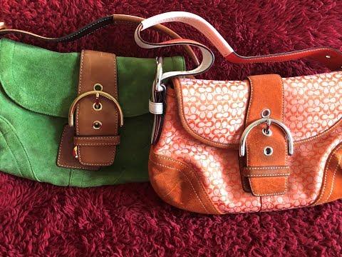 Coach Soho Suede Handbag