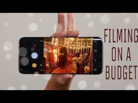 How to Film *High* Quality Videos On The Smallest Budget!