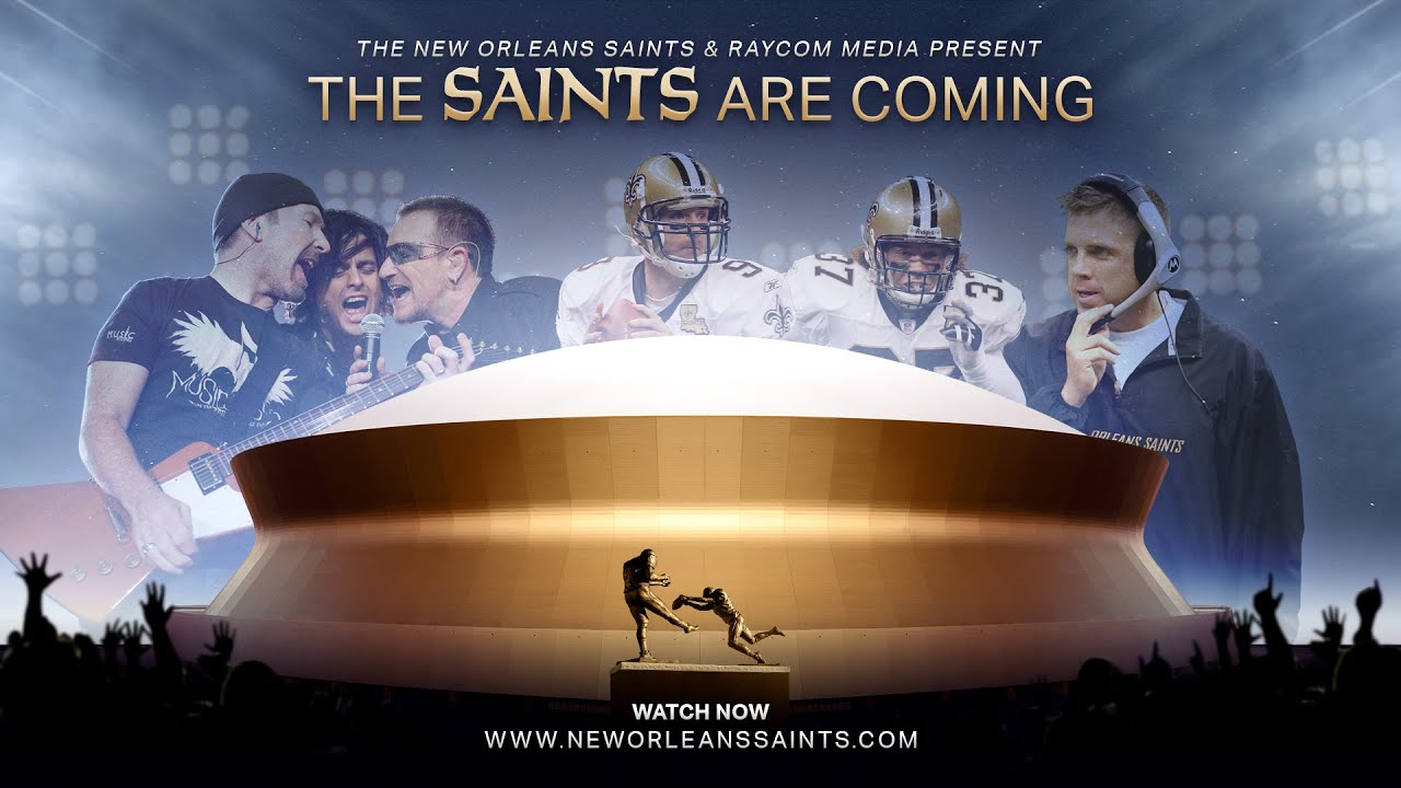 The Story of the 2006 Superdome Re-opening | The Saints Are Coming