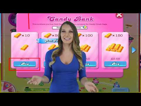Candy Crush Gold - How to get gold bars in candy crush saga