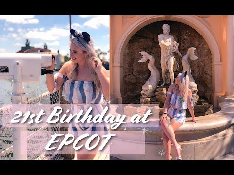 21st BIRTHDAY AT DISNEY WORLD✨EPCOT DRINK AROUND THE WORLD