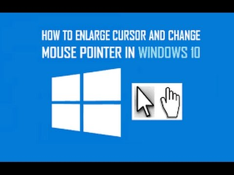 How To Change The Mouse Pointer Size And Color In Windows 10
