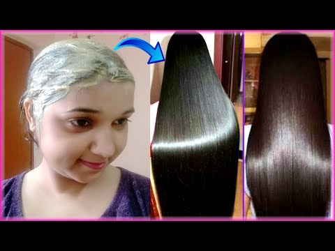 Triple Hair Growth Hair Pack for Silky/Shiny/Strong Hairs | DIY hair mask for Rough & Damaged hairs