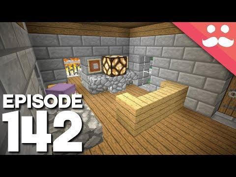 Hermitcraft 5: Episode 142 - The PISTON HOUSE!