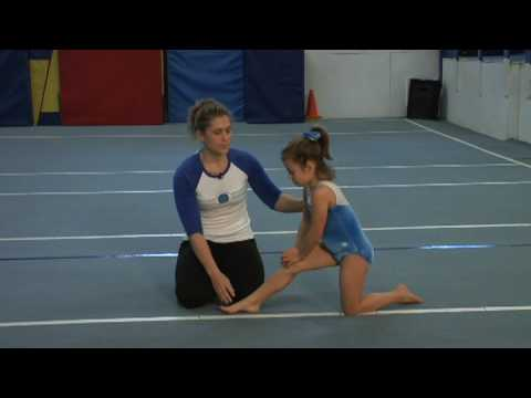 Gymnastics & Tumbling : How to Do the Splits for Kids