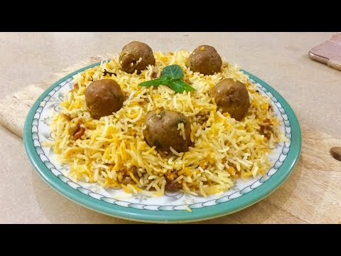 Kofta biryani || Asia's kitchen