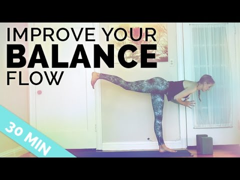 Improve Your Balance Yoga Sequence ♥ All My Tips to Balance in Yoga Poses ♥ (30-Min)