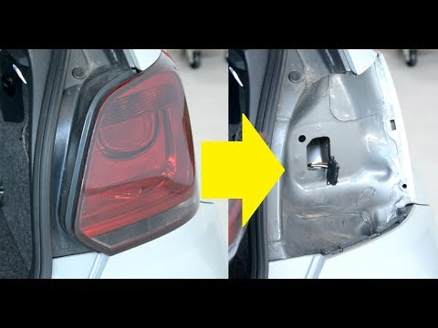 How to change the rear bulb on a VW Polo 6r