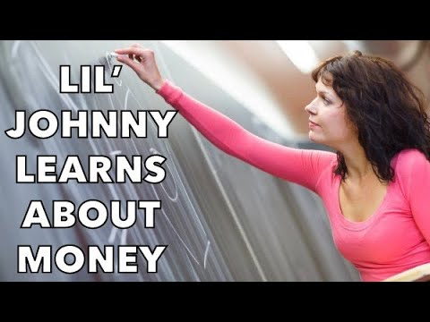 Little Johnny Jokes - Little Johnny Learns About Money...