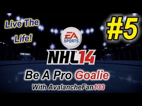 NHL 14 - Be A Pro - Goalie - Episode 5: Game 25 of My First Season