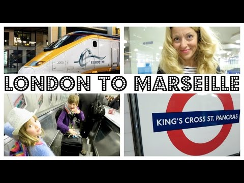 EUROSTAR  - LONDON TO PARIS TO MARSEILLE WITH KIDS !  |   twoplustwocrew
