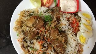 Chicken Biryani Recipe Restaurant Style - English Subtitle | Murgh Biryani | Chicken Biryani