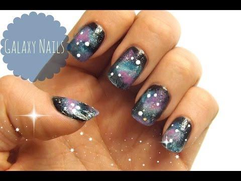Galaxy Nails   VikiNailbeauty