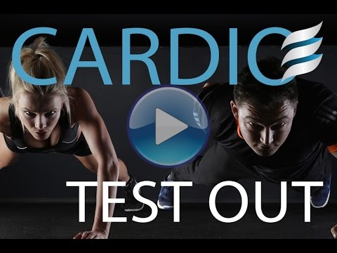 Fluid Graded Cardio Test Out