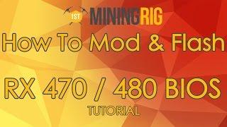 RX470/480 ELPIDA Memory BIOS Mod/Flash Tutorial For High
