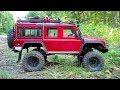 TRX-4: Long arm Lift kit test crawl
