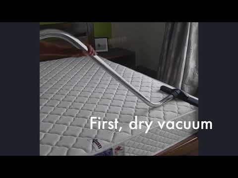 The easiest way to remove dust mites from your mattresses