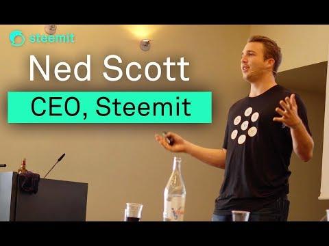 Ned Scott's Keynote at SteemFest2 in Lisbon