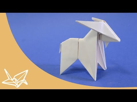 Origami Goat Instructions [Peterpaul Forcher]