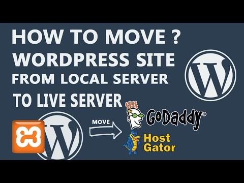 how to move WordPress site  from local to live server hosting [hindi]