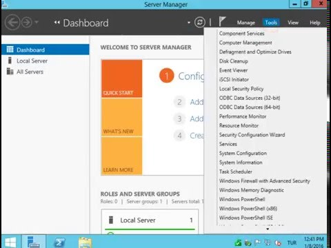 Windows 2012 Administrator Password Change