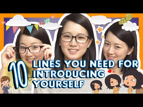 Learn 10 Lines You Need for Introducing Yourself in Japanese