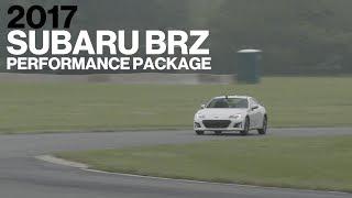 Subaru BRZ w/ Performance Pack Hot Lap at VIR | Lightning Lap 2017 | Car and Driver