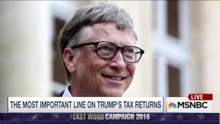 Trump's tax return PROVE HE IS NOT A BILLIONAIRE!!!!