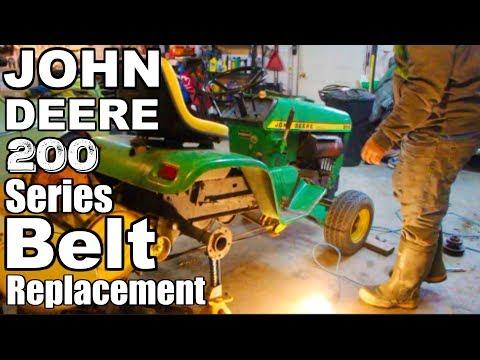 John Deere 200 Series Belt Replacement