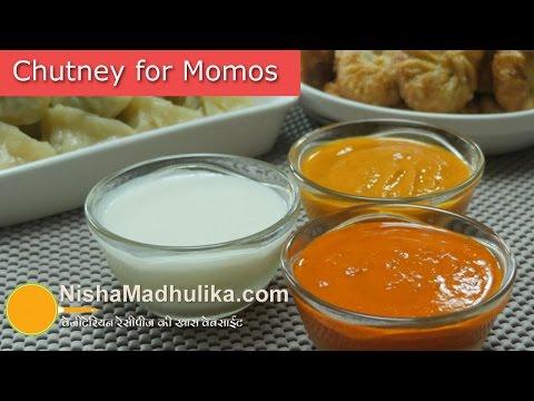 Momos Chutney  | मोमो के लिये चटनियां । Chilli Sauce for Momos - Momos White sauce